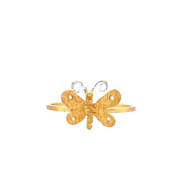 Plated Sterling Silver Dragonfly Ring Confer's Jewelers Bellefonte, PA