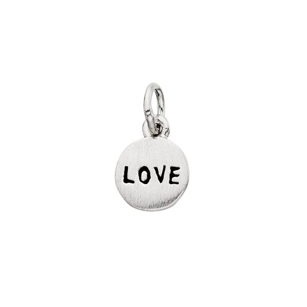 Silver Love Charm Confer's Jewelers Bellefonte, PA