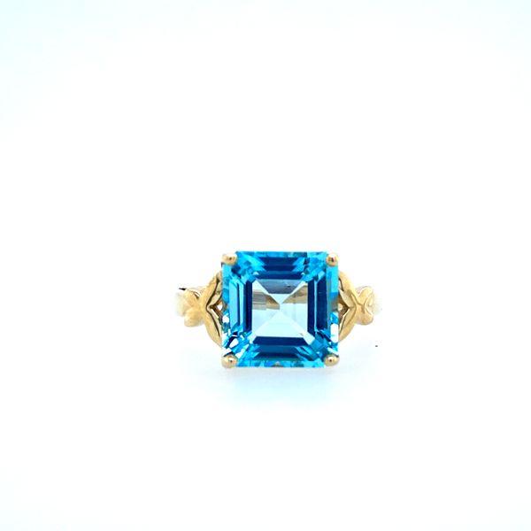 Estate Blue Topaz Ring Confer's Jewelers Bellefonte, PA