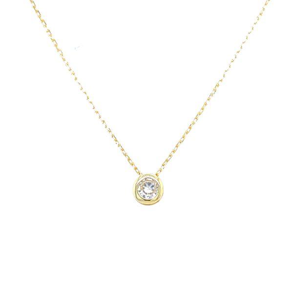 Sterling Silver Bezel Necklace Confer's Jewelers Bellefonte, PA