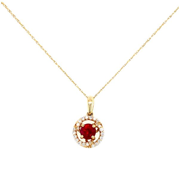 Ruby and Diamond Necklace Confer's Jewelers Bellefonte, PA