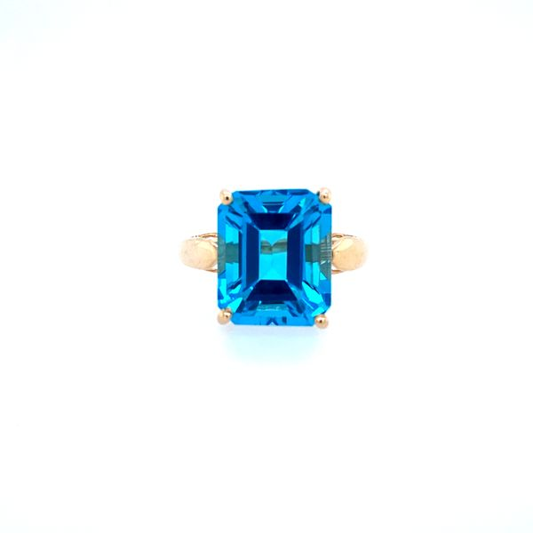 Blue Topaz Ring Confer's Jewelers Bellefonte, PA