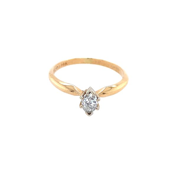 Marquise Diamond Engagement Ring Image 2 Confer's Jewelers Bellefonte, PA