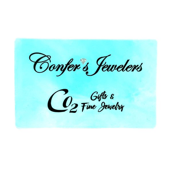 Confer's Jewelers Gift Card Confer's Jewelers Bellefonte, PA