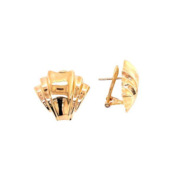 Yellow Gold Earrings Confer's Jewelers Bellefonte, PA