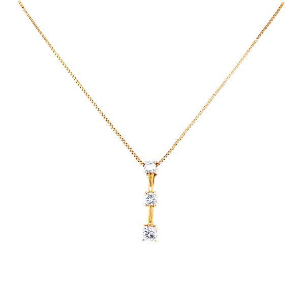 Three Diamond Journey Necklace Confer's Jewelers Bellefonte, PA