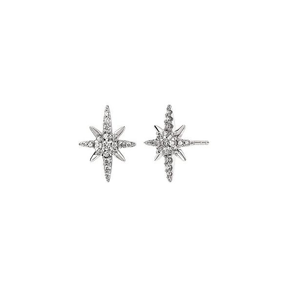 Diamond Star Earrings Confer's Jewelers Bellefonte, PA