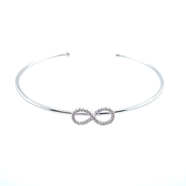Sterling Silver Infinity Bangle Confer's Jewelers Bellefonte, PA