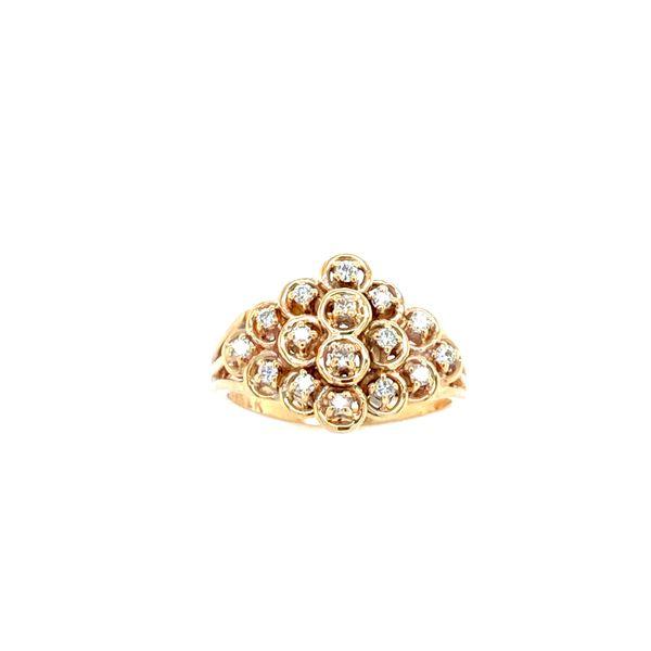 14K Yellow Gold Diamond Ring Confer's Jewelers Bellefonte, PA