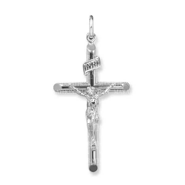 Sterling Silver Adult Crucifix Confer's Jewelers Bellefonte, PA