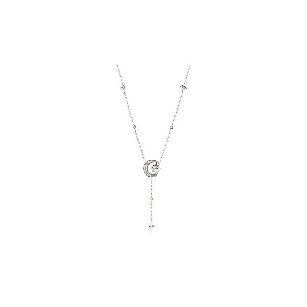Moon and Star Diamond Drop Pendant Confer's Jewelers Bellefonte, PA