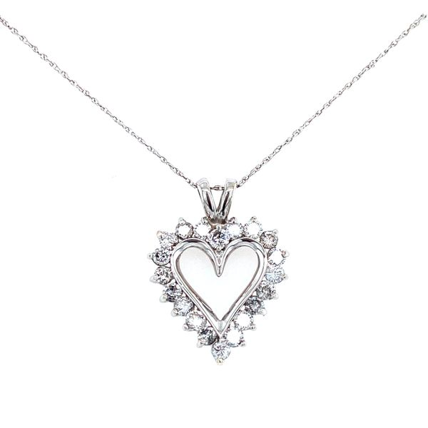Diamond Heart Necklace Confer's Jewelers Bellefonte, PA