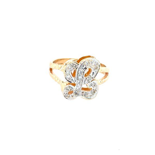 Diamond L ring Confer's Jewelers Bellefonte, PA