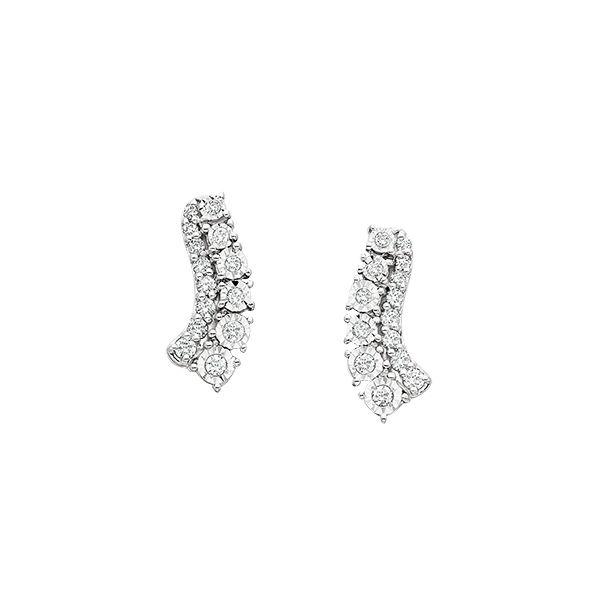 Diamond Earrings Confer's Jewelers Bellefonte, PA