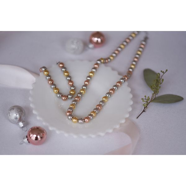 Sterling Silver Tri-Color Bracelet Image 2 Confer's Jewelers Bellefonte, PA