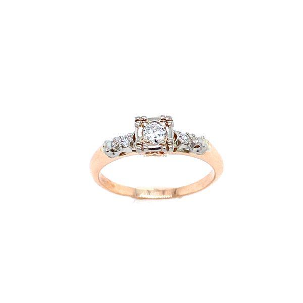 Estate Diamond Engagement ring Image 2 Confer's Jewelers Bellefonte, PA