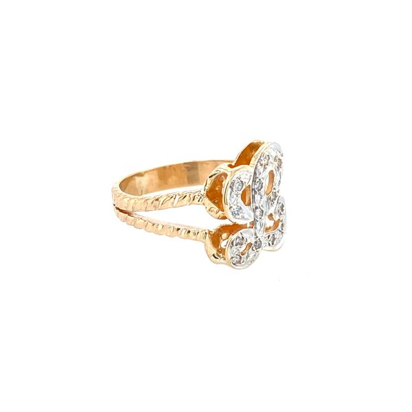 Diamond L ring Image 2 Confer's Jewelers Bellefonte, PA