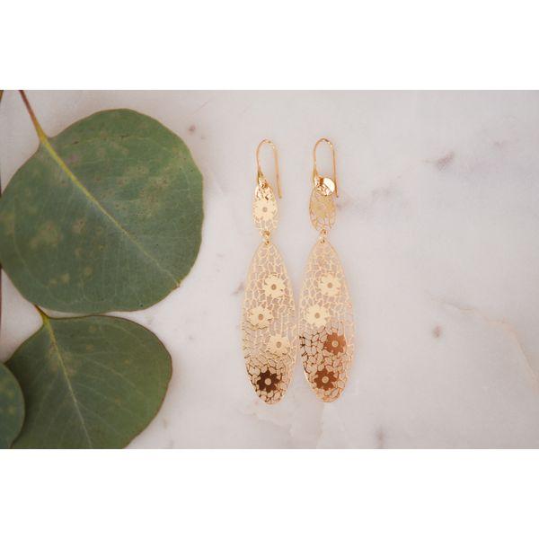 Sterling Silver Cut-Out Earrings Confer's Jewelers Bellefonte, PA