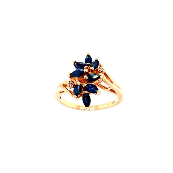 Sapphire Fashion Ring Confer's Jewelers Bellefonte, PA