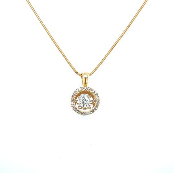 Dancing Diamond Necklace Confer's Jewelers Bellefonte, PA