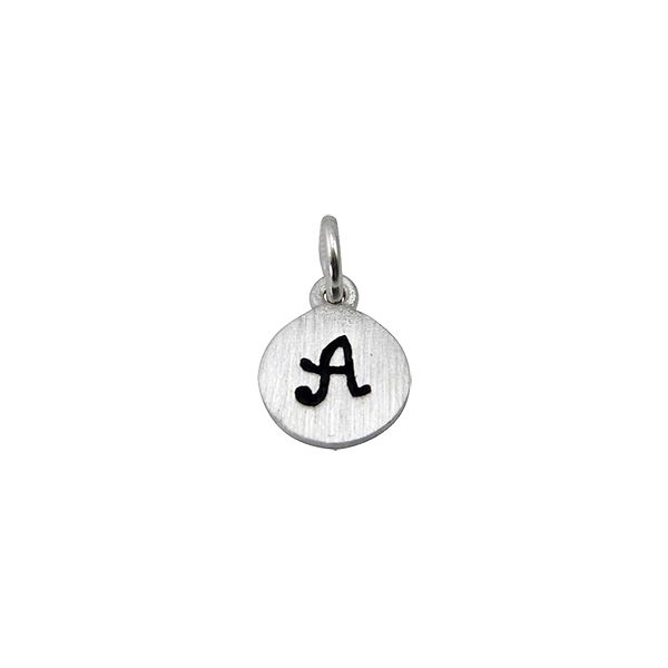 Silver Initial Charms Confer's Jewelers Bellefonte, PA