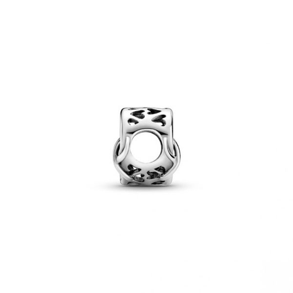 Love You Mum Infinity Heart Charm Image 3 Confer's Jewelers Bellefonte, PA