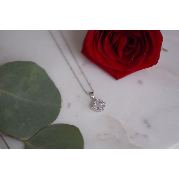 Sterling Silver CZ Necklace Confer's Jewelers Bellefonte, PA