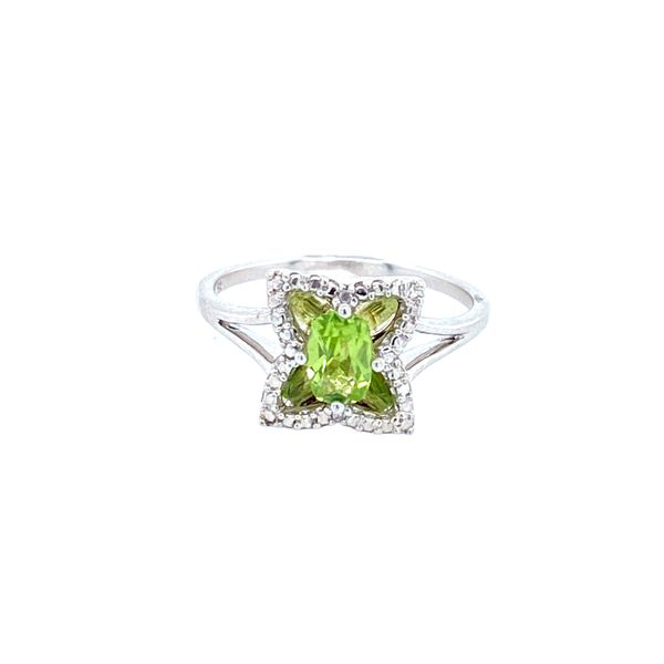Sterling Silver Peridot Ring Confer's Jewelers Bellefonte, PA