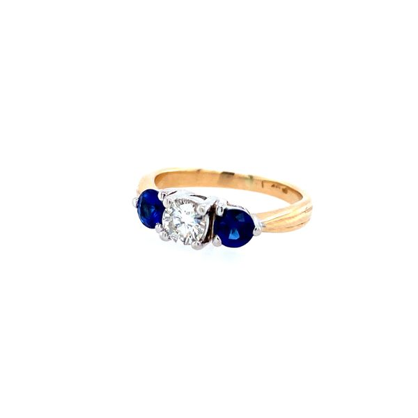Diamond and Sapphire Ring Confer's Jewelers Bellefonte, PA