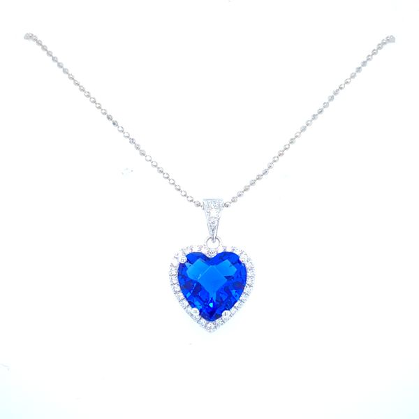 Sterling Silver Heart Necklace Confer's Jewelers Bellefonte, PA