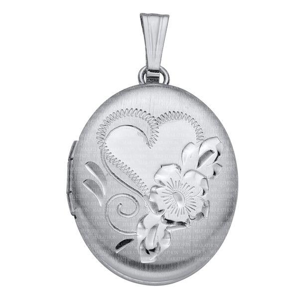 Sterling Silver Adult Locket Confer's Jewelers Bellefonte, PA