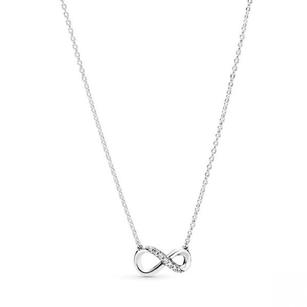 Sparkling Infinity Collier Necklace Confer's Jewelers Bellefonte, PA
