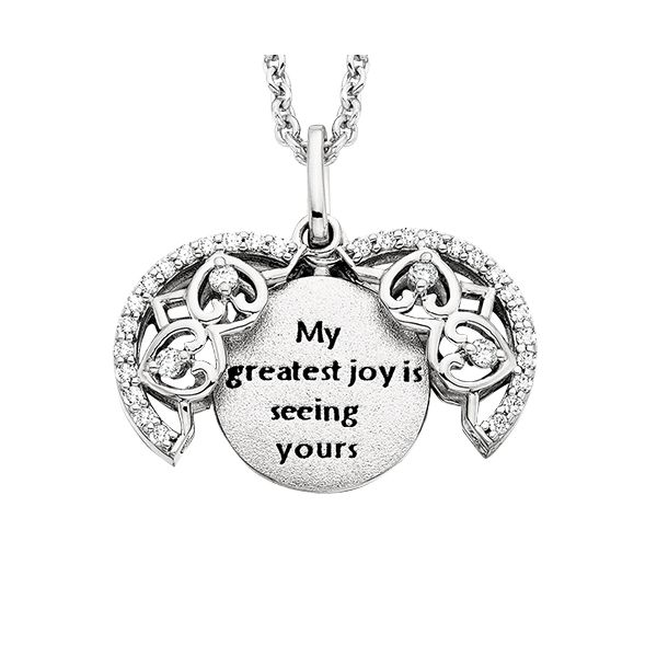 My Greatest Joy... Pendant Image 3 Confer's Jewelers Bellefonte, PA