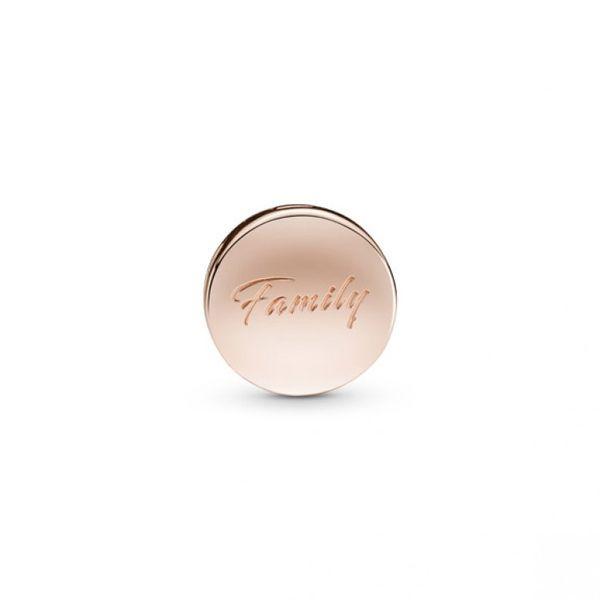 PANDORA Reflexions™ Sparkling Family Tree Clip - PANDORA Rose Image 2 Confer's Jewelers Bellefonte, PA