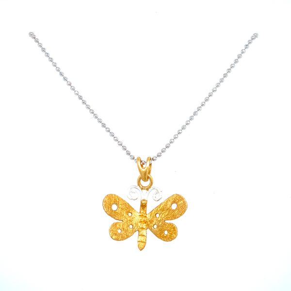 Sterling Silver Dragonfly Necklace Confer's Jewelers Bellefonte, PA