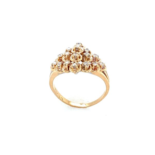 14K Yellow Gold Diamond Ring Image 2 Confer's Jewelers Bellefonte, PA