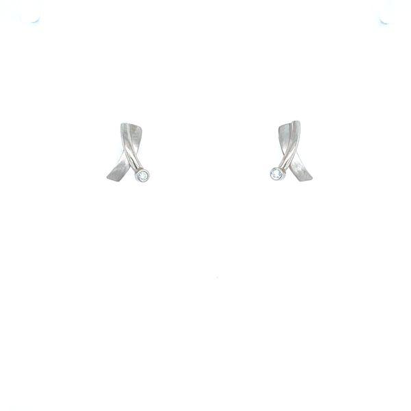 Platinum Studs Confer's Jewelers Bellefonte, PA