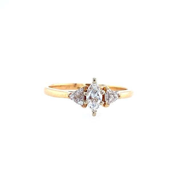 Marquise 3-Stone Engagement Ring Confer's Jewelers Bellefonte, PA
