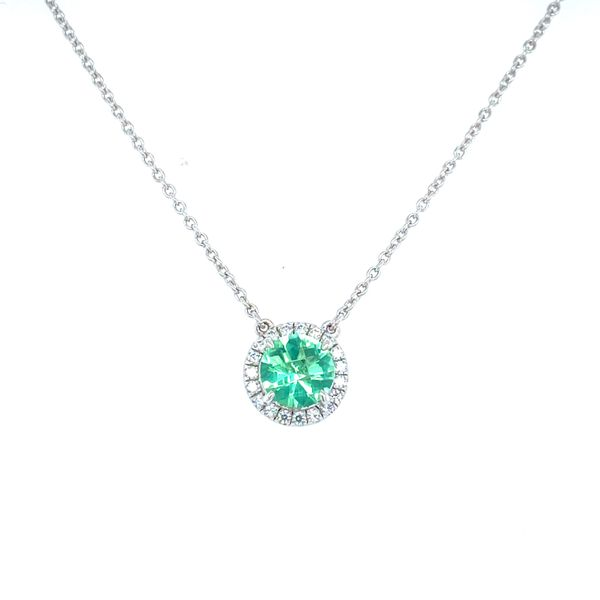 Sterling Silver Green Amethyst Necklace Confer's Jewelers Bellefonte, PA