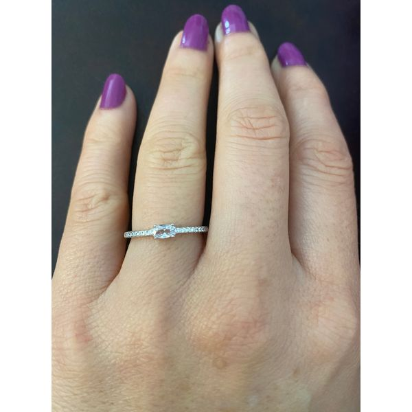 Sterling Silver Stackable CZ Ring Confer's Jewelers Bellefonte, PA