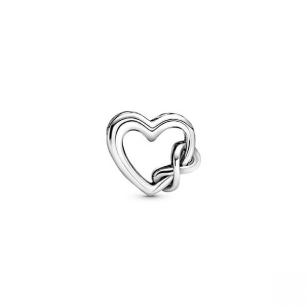 Love You Mum Infinity Heart Charm Image 2 Confer's Jewelers Bellefonte, PA