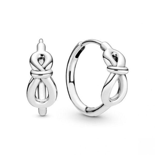 Infinity Knot Hoop Earrings Confer's Jewelers Bellefonte, PA