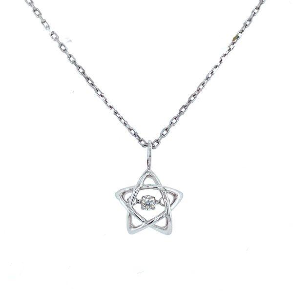 Dancing Diamond Star Pendant Confer's Jewelers Bellefonte, PA