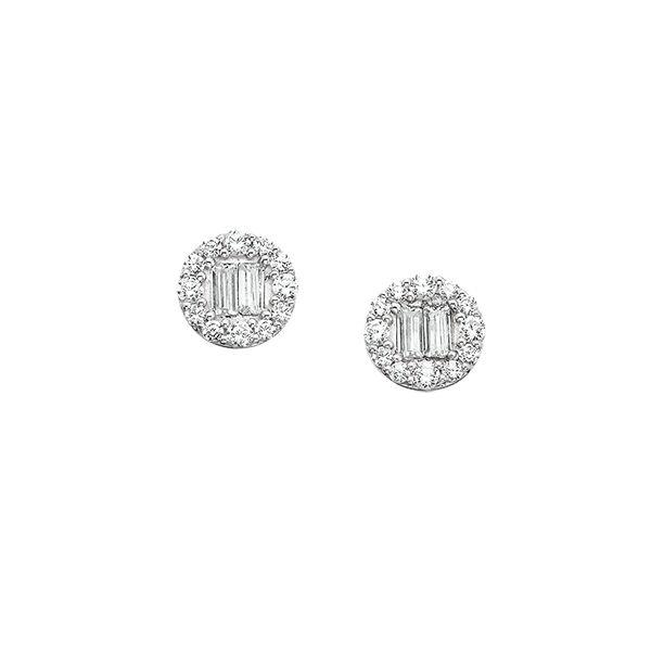 14kt Gold Diamond Earrings Confer's Jewelers Bellefonte, PA