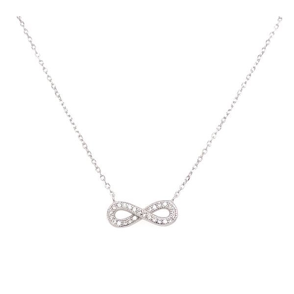 Sterling Silver Infinity Pendant Confer's Jewelers Bellefonte, PA