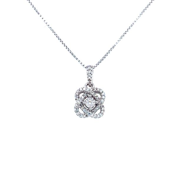Sterling Silver and Diamond 'My Love Surrounds You' Pendant Confer's Jewelers Bellefonte, PA