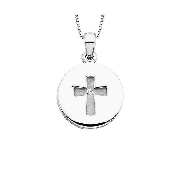Silver Grace Pendant Confer's Jewelers Bellefonte, PA