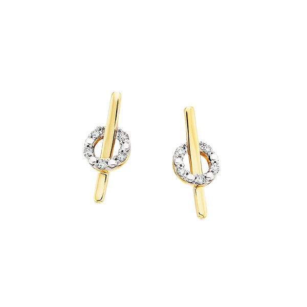 .04tw Diamond Earrings Confer's Jewelers Bellefonte, PA