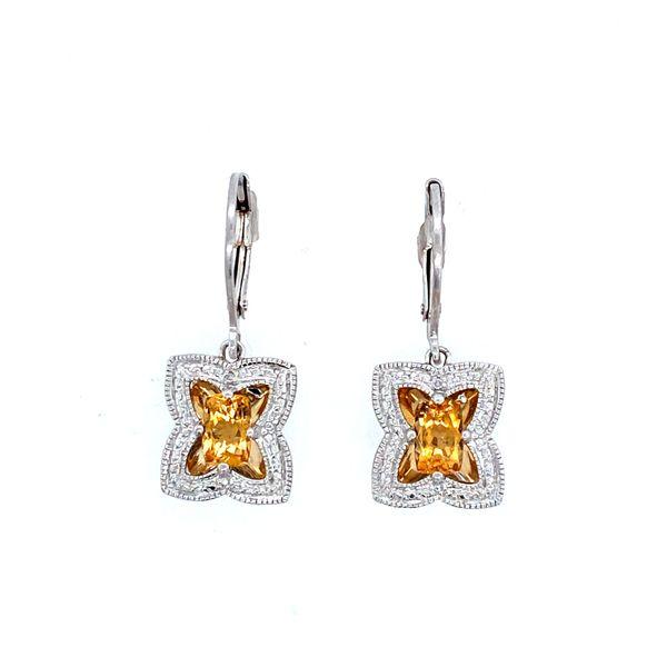 Sterling Silver Citrine Earrings Confer's Jewelers Bellefonte, PA