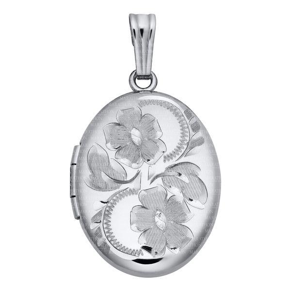 Sterling Silver Locket Confer's Jewelers Bellefonte, PA